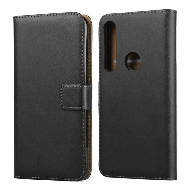 OnePlus 7T Pro Case - Classic Black Leather OnePlus 7T Case - Belts, Buckles and Wallets