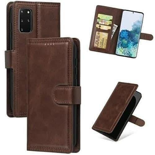 Galaxy S20+Case - Crazy Horse Flip Leather Wallet Galaxy S20+ Case - Belts, Buckles and Wallets