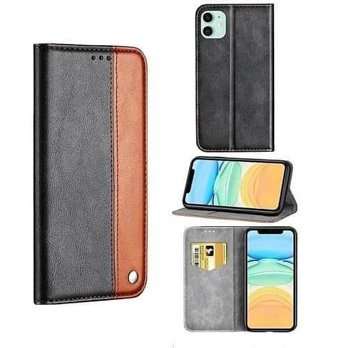 iPhone 12 Case - Ultra Slim Leather Case for iPhone 12 Pro - Belts, Buckles and Wallets