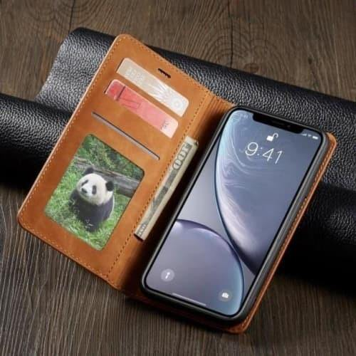 iPhone 11 Pro Max Case - Retro Leather iPhone Case - Belts, Buckles and Wallets