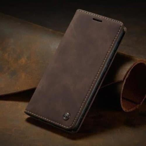 Galaxy S20 FE Case - Vintage Leather Case for GalaxyS20 FE 5G - Belts, Buckles and Wallets