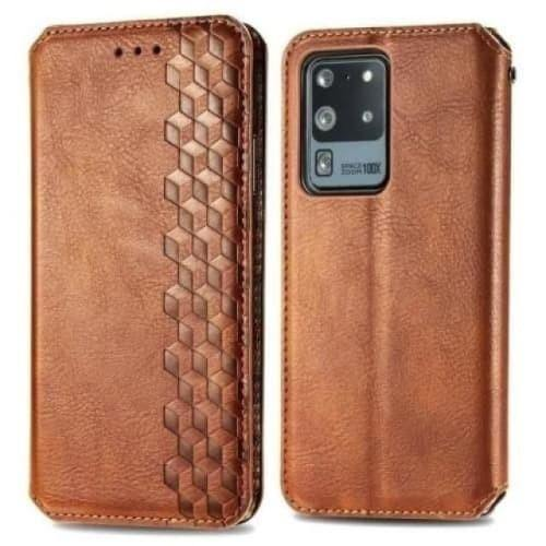 Galaxy S20 FE Case - Flip Leather Case for Samsung Galaxy S20 FE - Belts, Buckles and Wallets