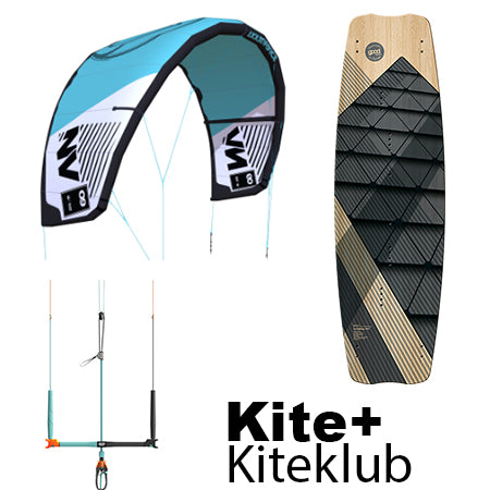 Premium Pakken- Liquid Force NV kite