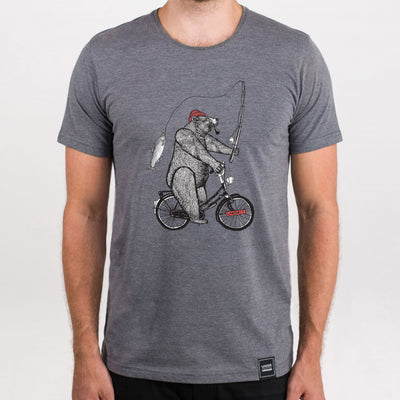 Lakor - Bike bear (Grey melange)