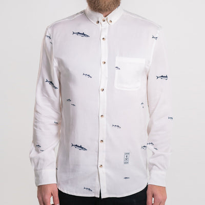 Lakor - Mackerel shirt (white)