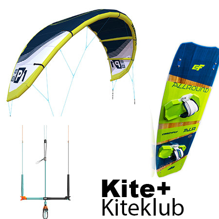 Allround Pakke - Liquid Force P1 kite