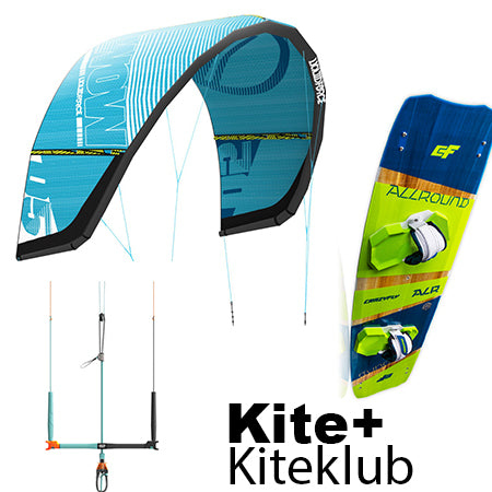 Allround Pakke - Liquid Force Wow kite