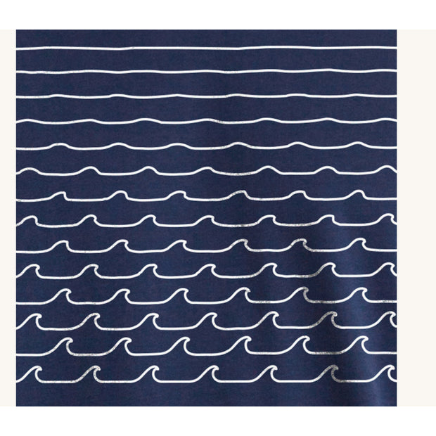 Pleasant - waves navy