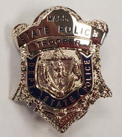 Massachusetts State Police Lapel Pin