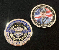 Trooper Thomas Devlin memorial challenge coin