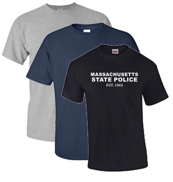 Massachusetts State Police Est. 1865 T-Shirt