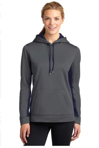 Massachusetts State Police Ladies Sport Wicking Hoodie