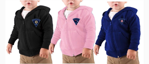 Massachusetts State Police Toddler Full Zip Hoodie 3446