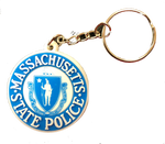 Massachusetts State Police Key Chain