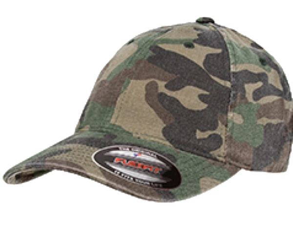 Massachusetts State Police FlexFit Camo Hat