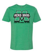 Herd Bros Tee - Kelly Green