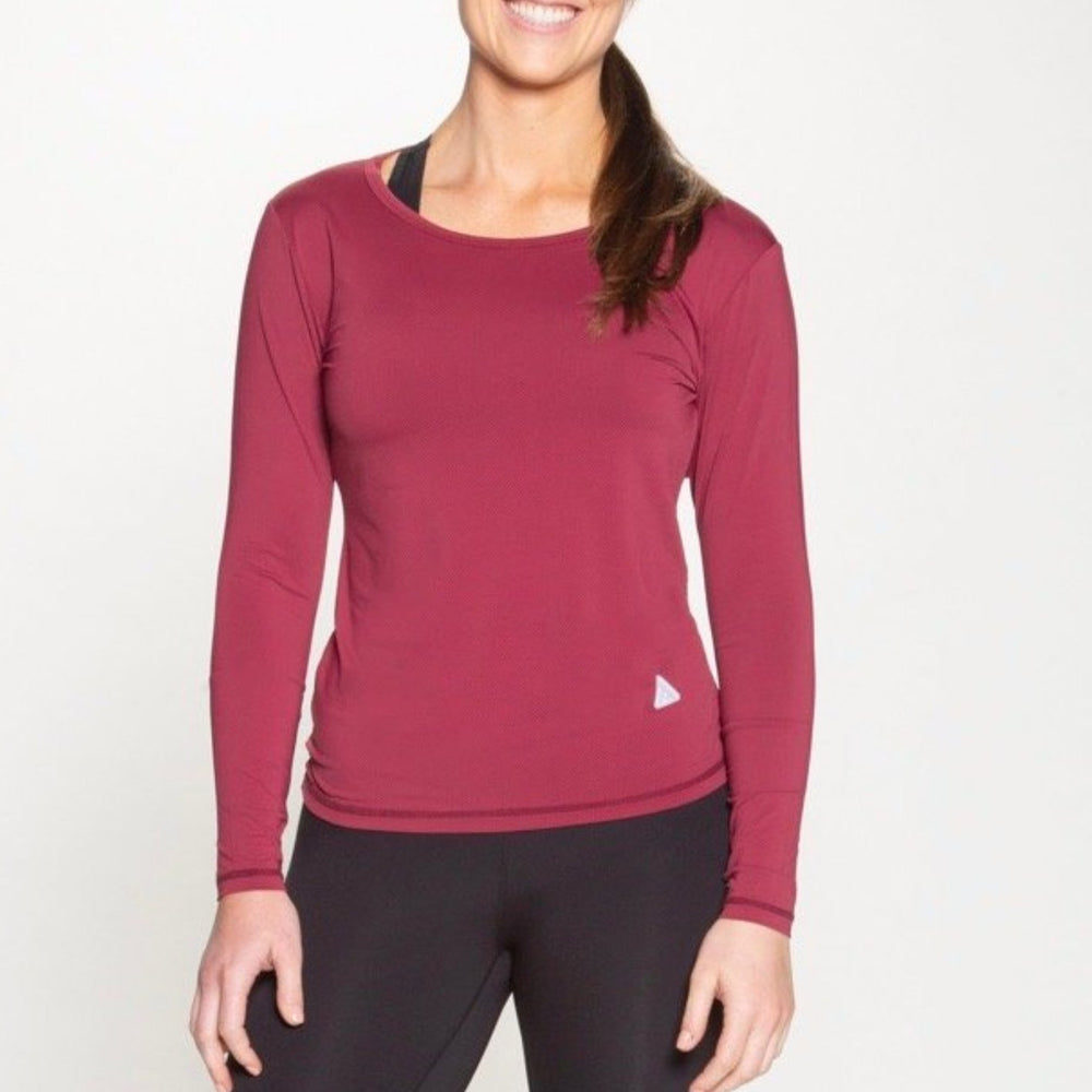 Red River Long Sleeve - Maroon