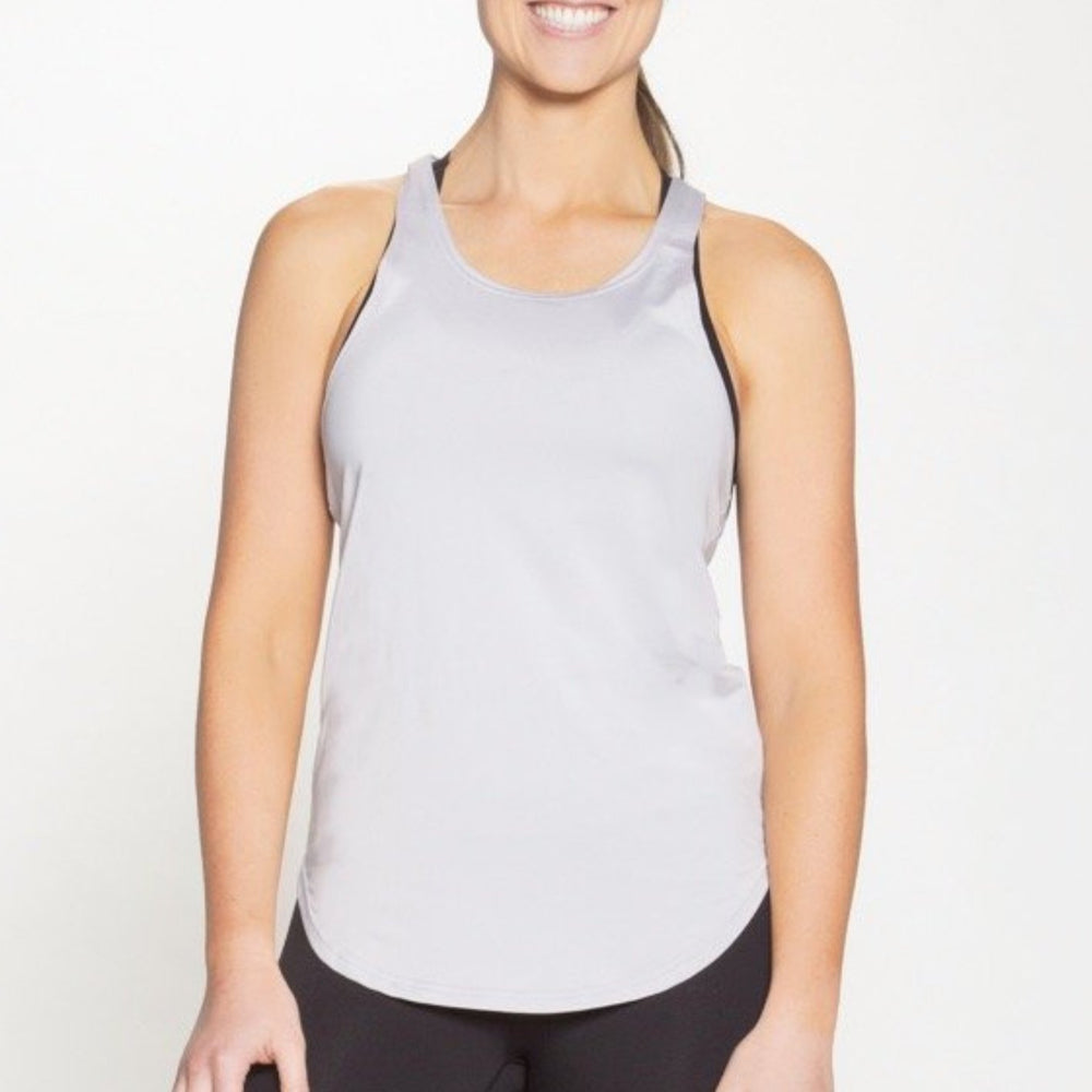 Jollyville Tank Top - Light Grey