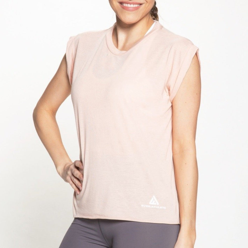 Wimberly Muscle Tee - Light Pink