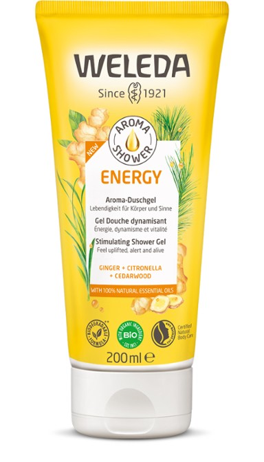 Weleda Aroma Shower Energy Gel Douche Dynamisant 200 ml