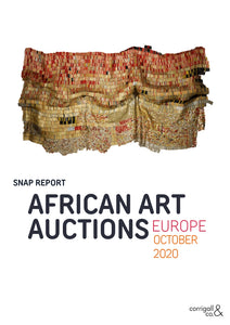 Snap Report: African Art Auctions Europe, October 2020