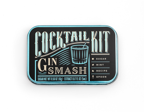 Gin Smash DIY Cocktail Kit - Modern & Dandy