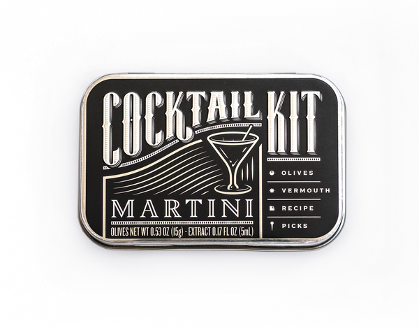 Dirty Martini DIY Cocktail Kit - Modern & Dandy