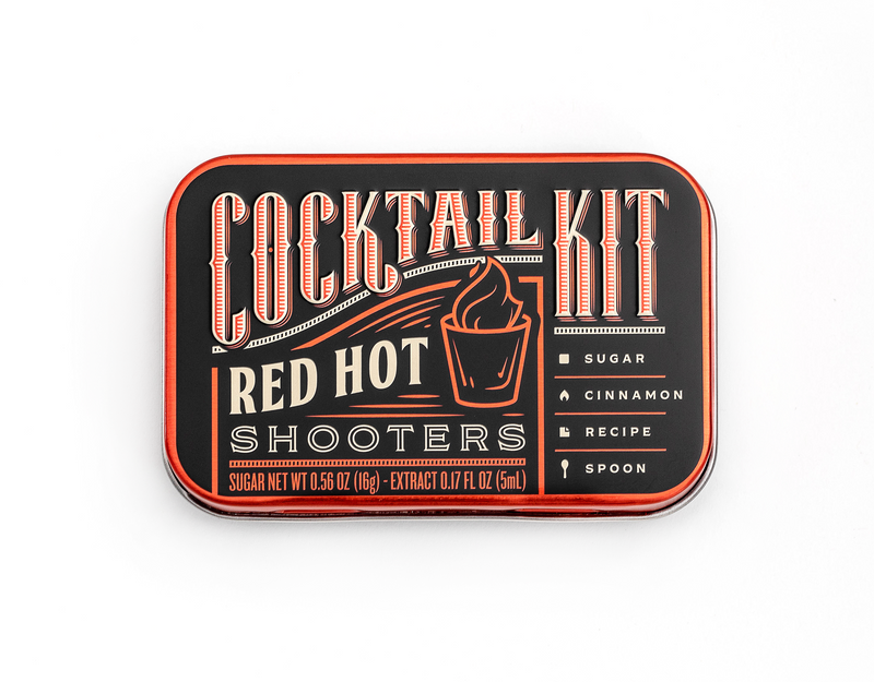 Red Hot Shooters DIY Cocktail Kit - Modern & Dandy