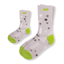 Soup to Nuts - Dad and Kid Socks - Modern & Dandy