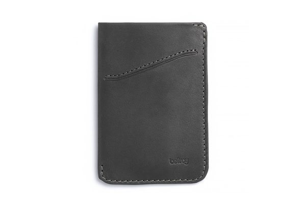 Card Sleeve Wallet - Charcoal - Modern & Dandy