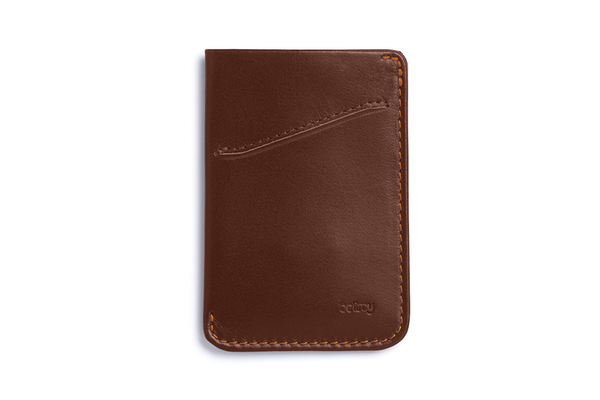 Card Sleeve Wallet - Cocoa - Modern & Dandy