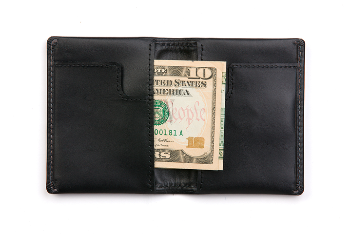 Slim Sleeve Wallet - Black - Modern & Dandy