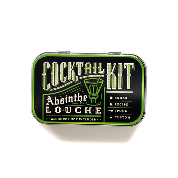 Absinthe DIY Cocktail Kit - Modern & Dandy