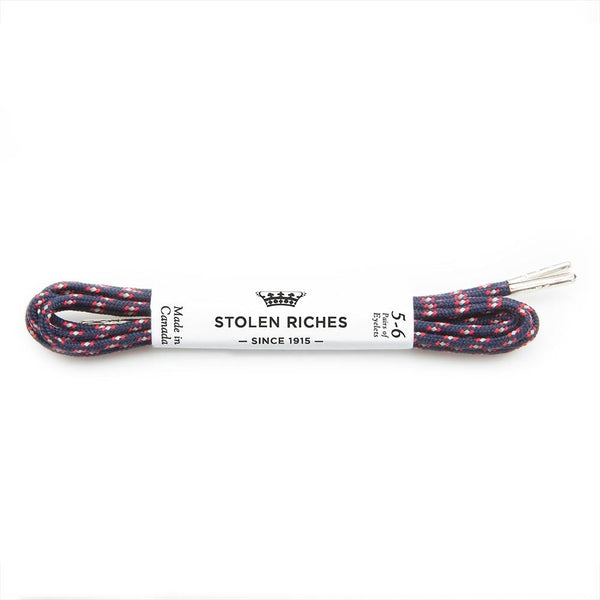 Dress Shoelaces - Sorento Blue - Modern & Dandy