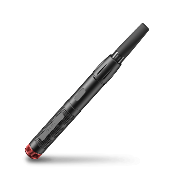 Vaporizer - Expedition Black and Red - Modern & Dandy