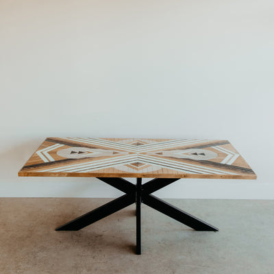 One-Of-A-Kind Dining Table w/ Spider Base