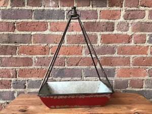 Metal Hanging Planter