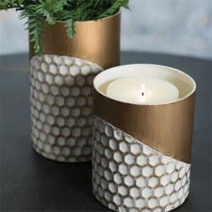 Honeycomb Pillar/Greenery Holder
