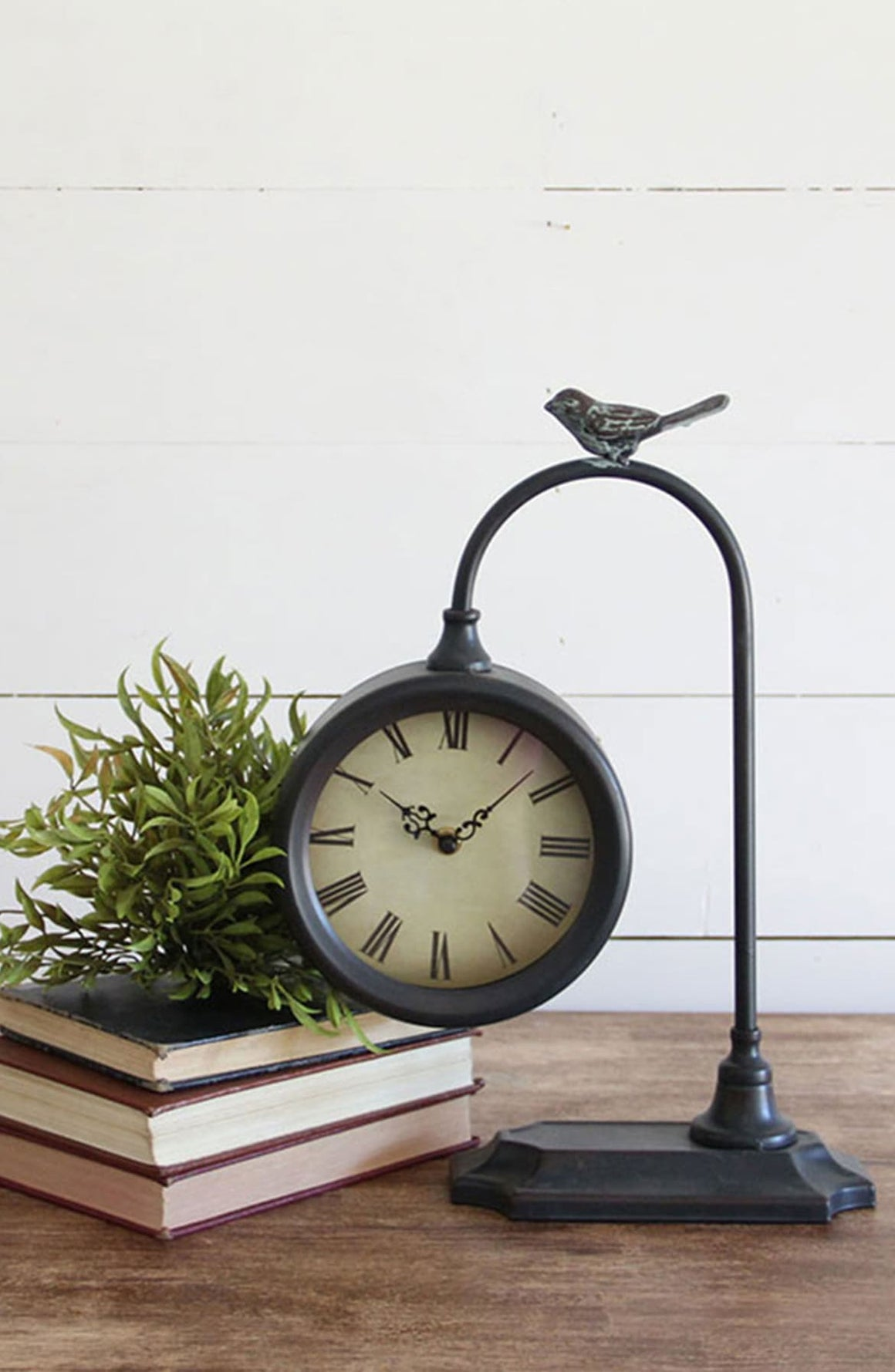 Tabletop Clock w/bird