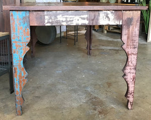 Funky Wood Dining Table