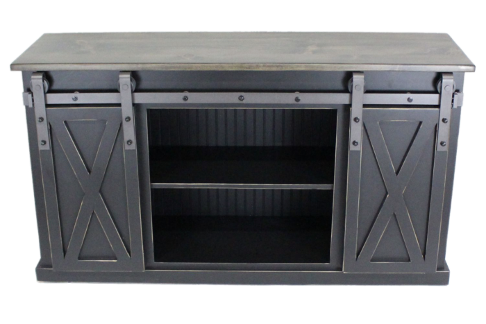 Farmhouse Industrial Console
