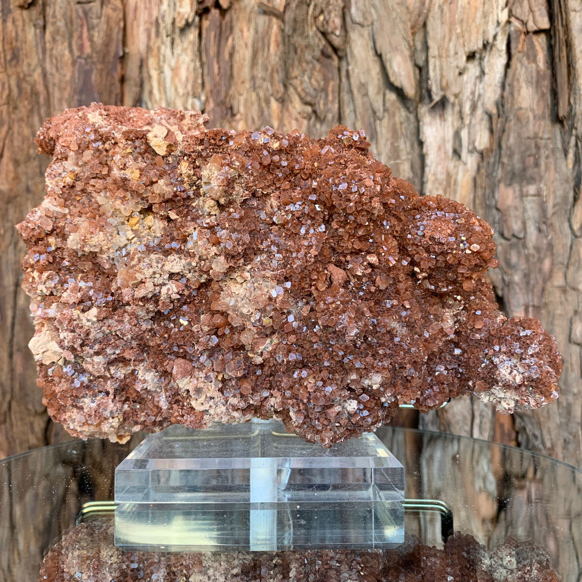 18.5cm 968g Aragonite from Morocco