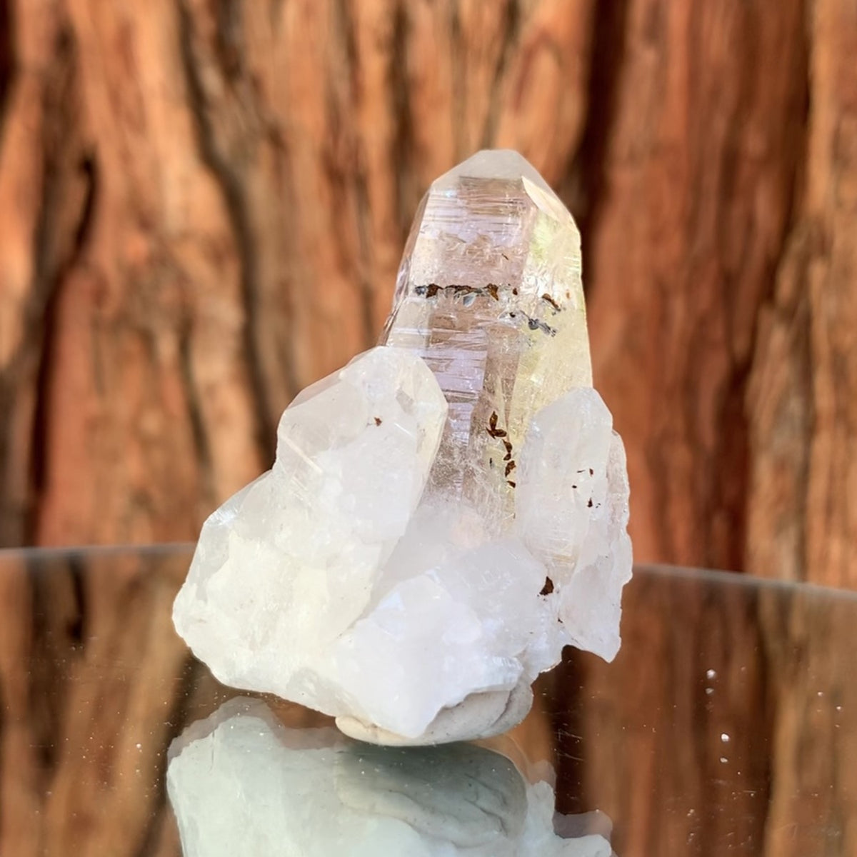 5.5cm 48g Himalayan Clear Quartz from Niamuru Mine, Arundo Village, Shigar District, Gilgit-Baltistan, Pakistan