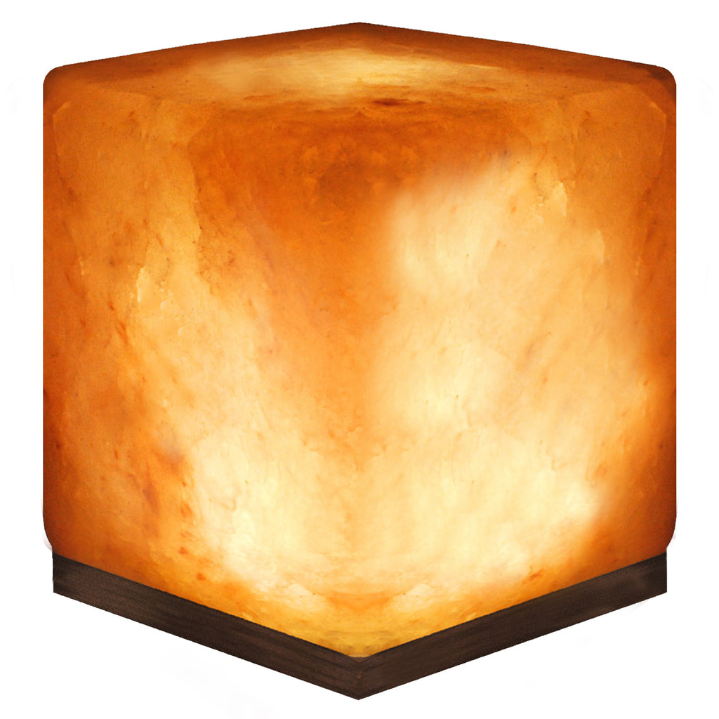"6"" Himalayan Salt Lamp from Pakistan - Cube"