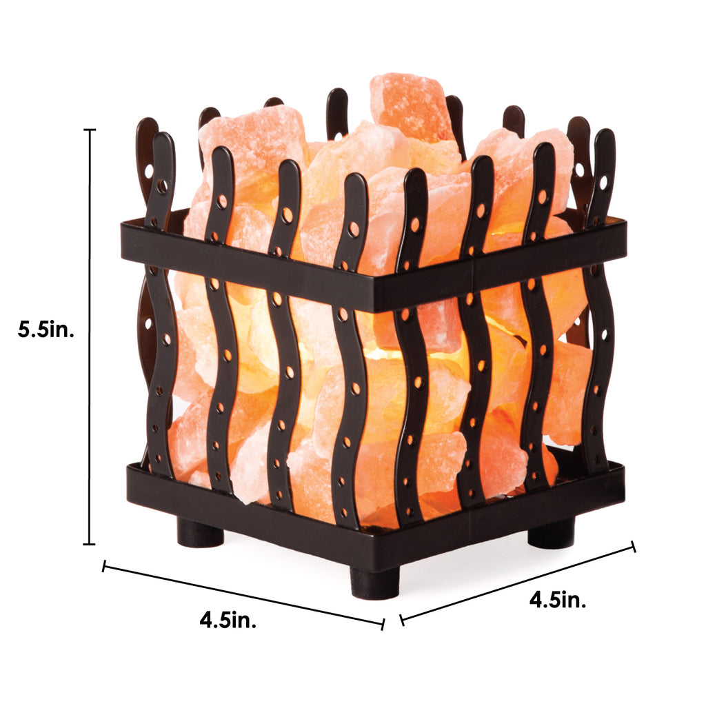 "5.5"" Himalayan Salt Lamp Wire Basket"