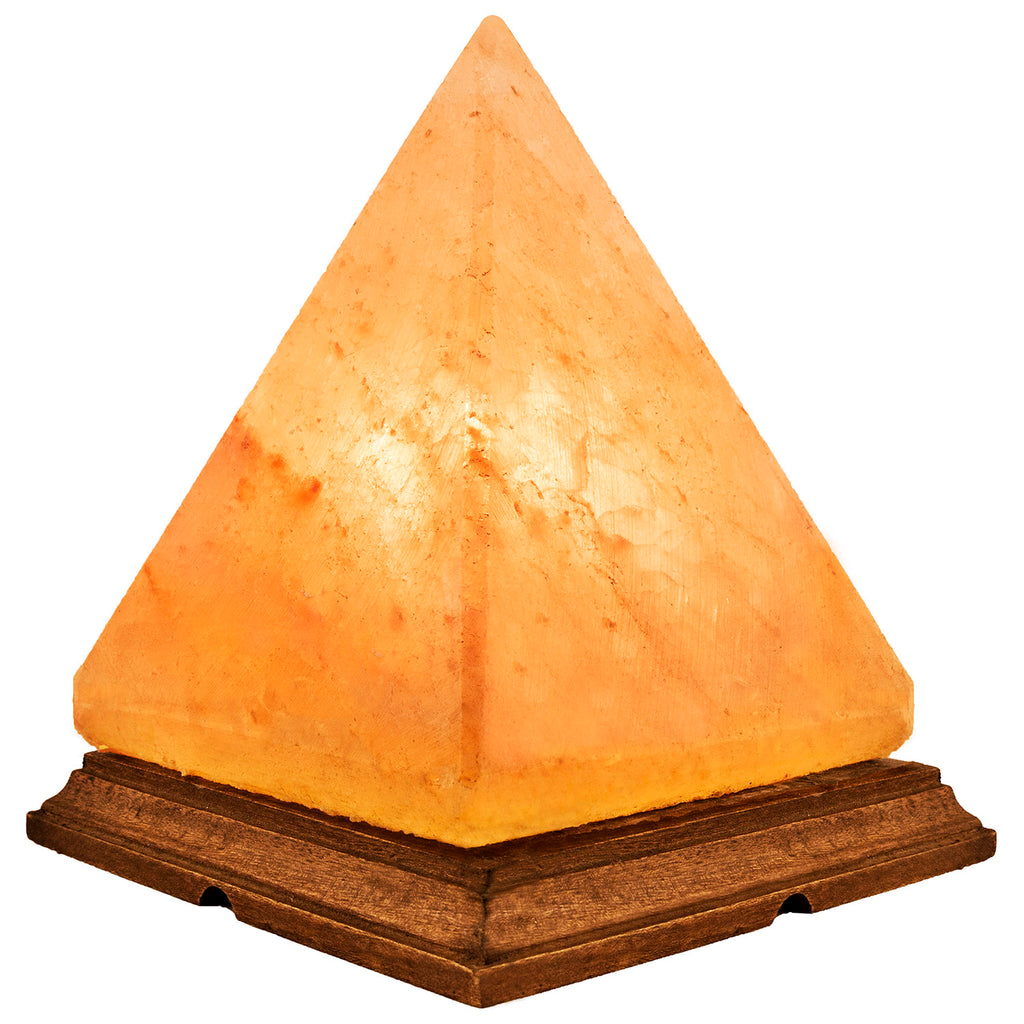 "4.5"" Himalayan Salt Lamp from Pakistan - Pyramid"