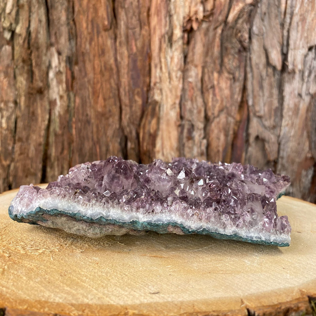 17cm 662g Amethyst in Geode from Brazil
