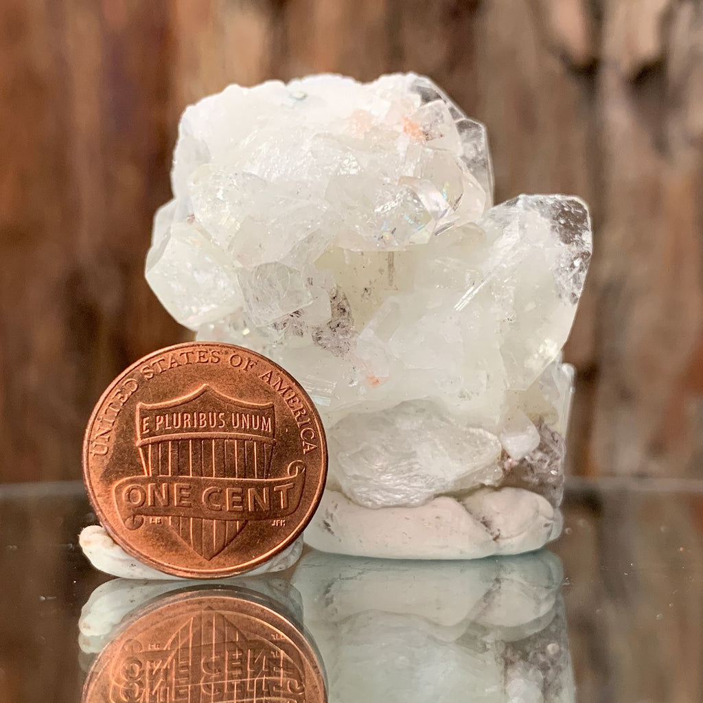 5cm 53g Apophyllite Crystal Cluster from India