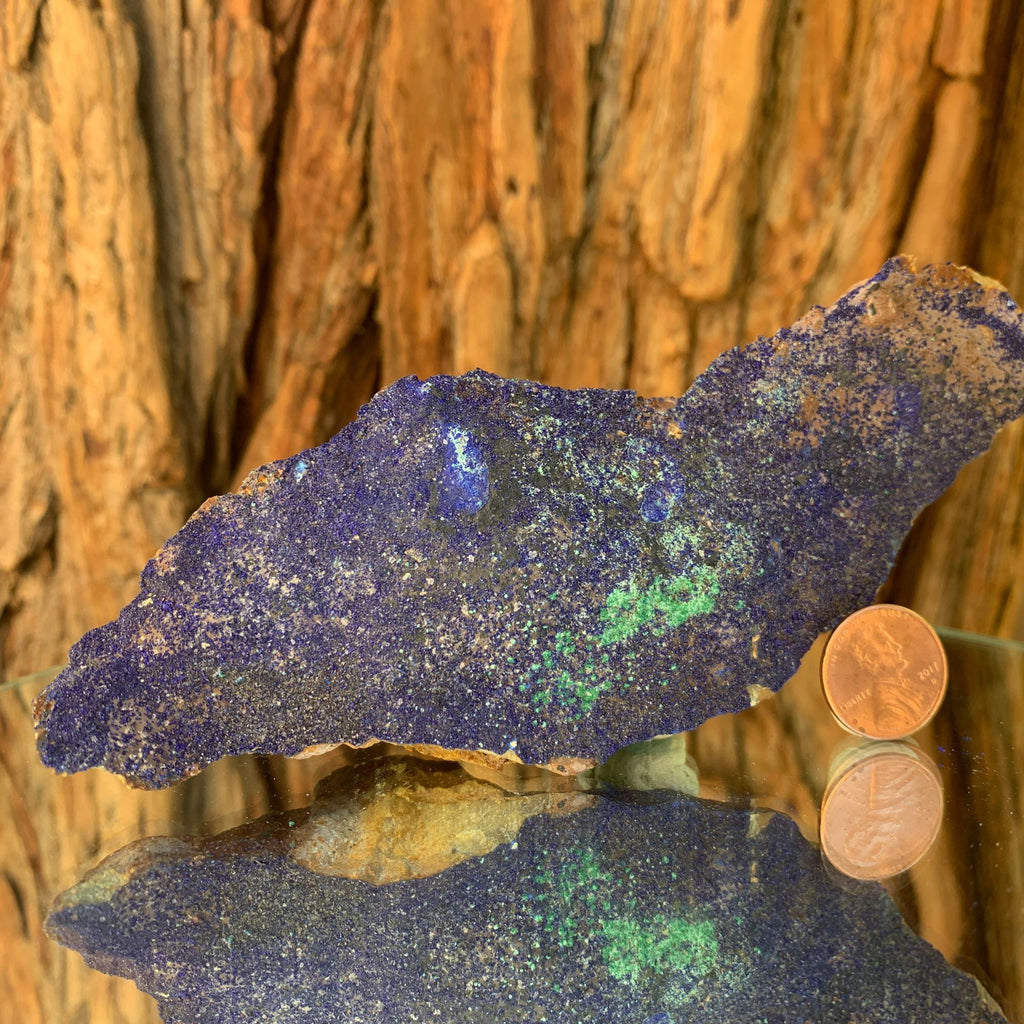 15cm 200g Azurite & Malachite Crystal Mineral Speciemn from Anhui, China