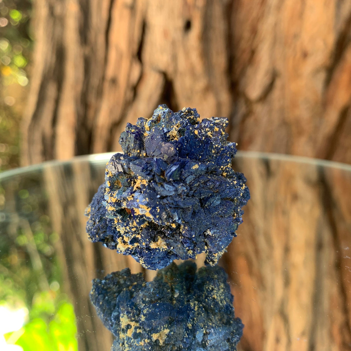 4.5cm 64g Azurite from Bou Beker, Morocco